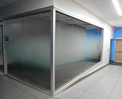 frosted window graphics film