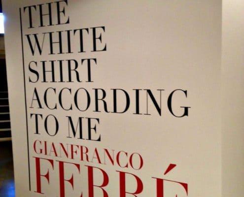 The White Shirt According to Me Exhibit.