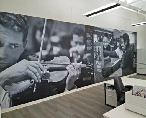 Environmental Graphics in the workplace can inspire