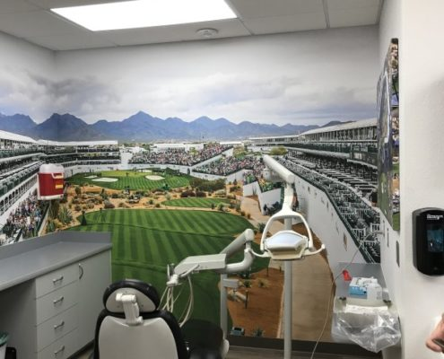 Dental Office Wall Mural