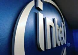 Intel Dim letters small