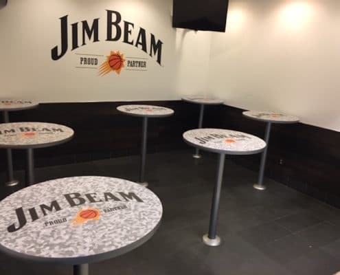 Jim Beam wraps everything with graphics