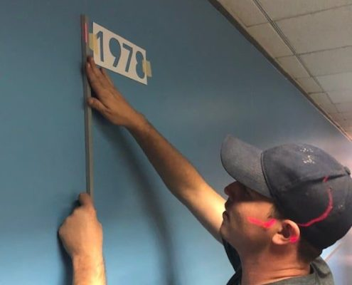 We pay attention to the smallest detail in our signage installs