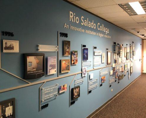 Rio Salado timeline looks so cool