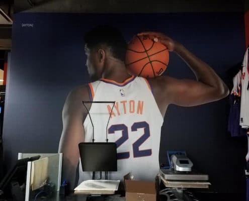 Wall mural featuring Deandre Ayton